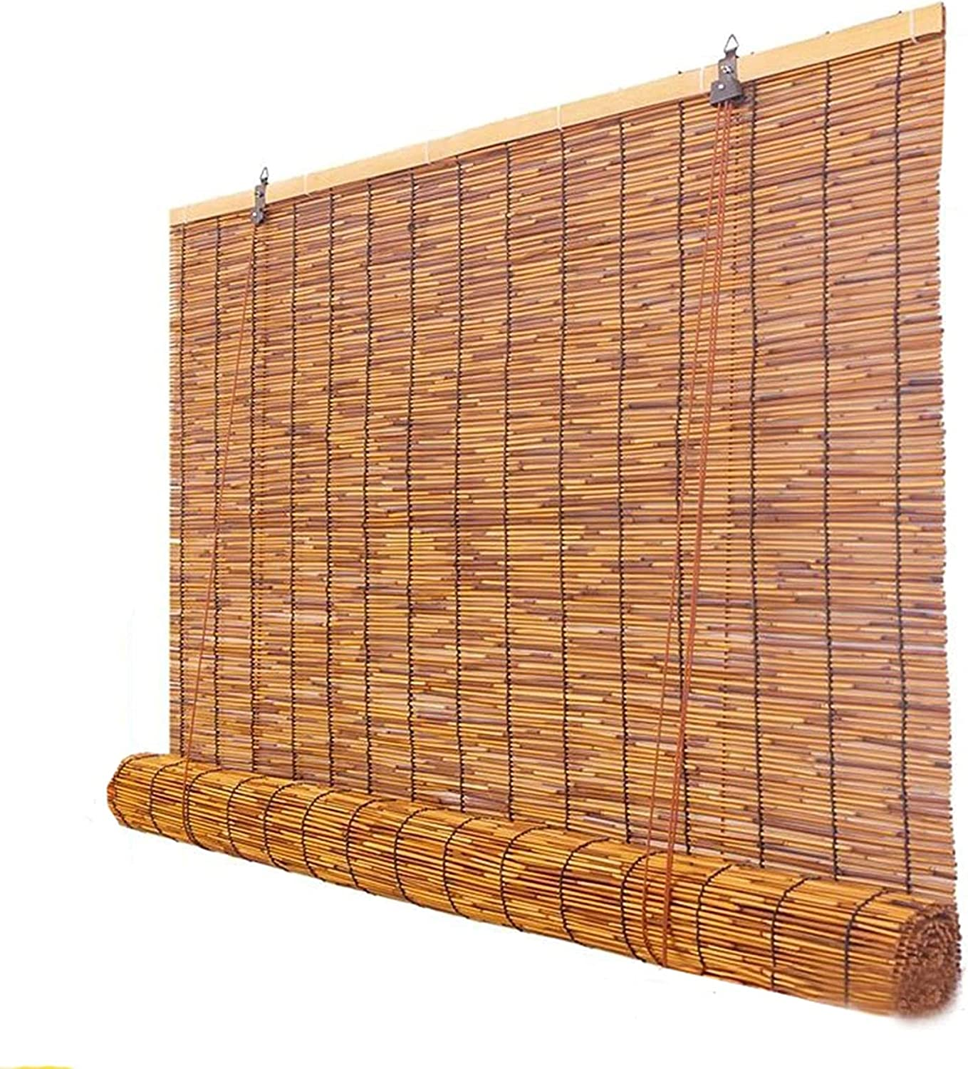 ZHANGF Bamboo Roller Blind Awning Reed Japan Maker New Curtai Sale price Decorative Natural