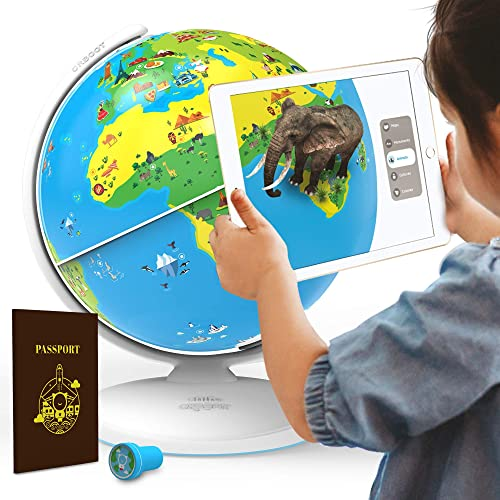 Shifu Orboot: The Educational, Augmented Reality Based Globe | STEM Toy for Boys & Girls Age 4 to 10 years | Ideal Gi...