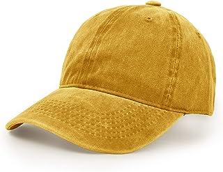 UltraKey Baseball Cap, UltreKey Washed Cotton Adjustable Sport Outdoor Sun Cap Unisex Hip Hop Casual Hat Snapback Cap