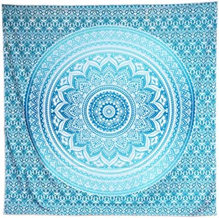Best blue mandala tapestry Reviews