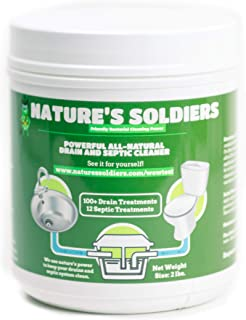 Drain Cleaner and Septic Tank Treatment. Safe Natural Enzymes. Powerful..