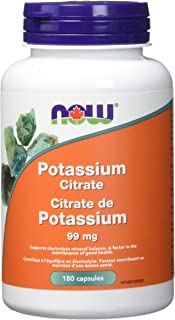 NOW FOODS Potassium Citrate 99Mg, 180 CT
