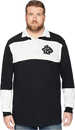 Big & Tall Rugby Polo Shirt