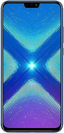 "$199 Get Huawei Honor 8X (64GB + 4GB RAM) 6.5"" HD 4G LTE GSM Factory Unlocked Smartphone - International Version No Warranty JSN-L23 (Blue)"