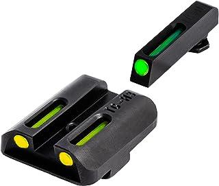 TRUGLO TFO Tritium and Fiber-Optic Handgun Sights for Glock Pistols