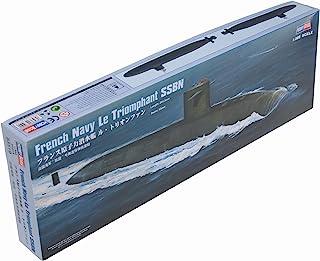 ホビーボス 1/350 潜水艦 シリーズ フランス原子力潜水艦 ル・トリオンファン プラモデル