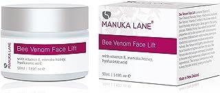Natural Bee Venom Face Lift Treatment Cream with Active Manuka Honey, Shea, Cocoa Butter, and Jojoba – Nature's Most Power...