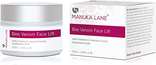 Natural Bee Venom Face Lift Treatment Cream with Active Manuka Honey, Shea, Cocoa Butter, and Jojoba – Nature's Most Powerful Anti-Aging and Anti-Wrinkle Solution!