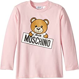 Long Sleeve Teddy Bear Logo Graphic T-Shirt (Infant/Toddler)