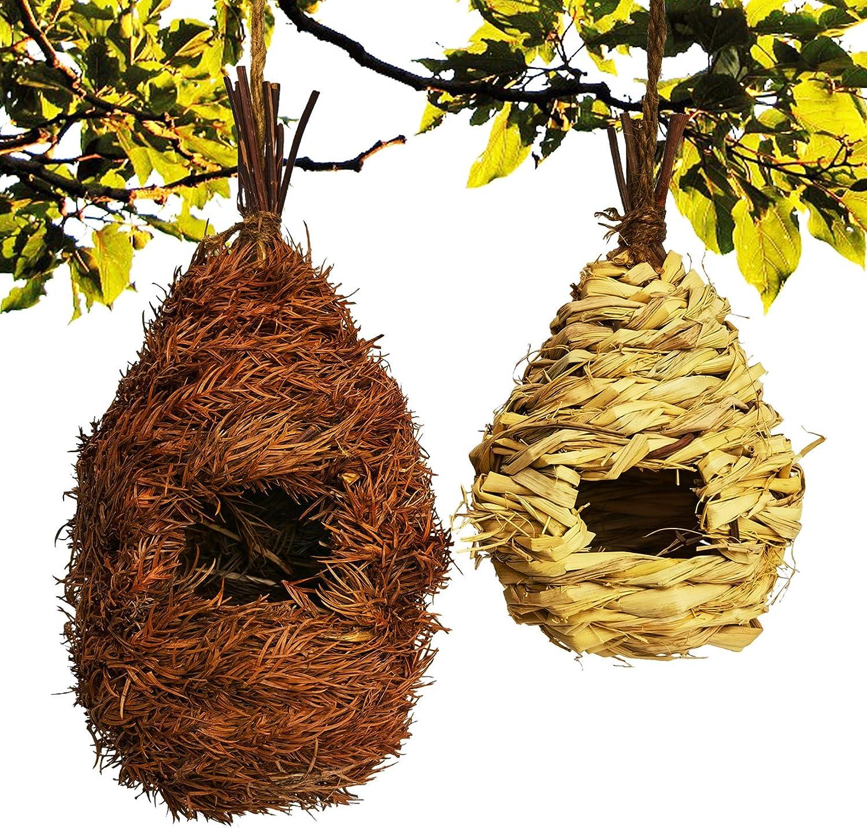 chuanglian-Bird Hut Hummingbird House Lowest price challenge Natural A Minneapolis Mall Woven Hand Grass