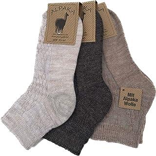 Candados Socks Milano 6 pares calcetines cortos de mezcla de lana y alpaca muy cálidos Made in Italy