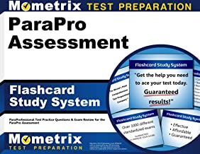 ParaPro Assessment Flashcard Study System: ParaProfessional Test Practice Questions & Exam Review for the ParaPro Assessment (Cards)