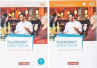Pluspunkt Deutsch A2: Gesamtband - Allgemeine Ausgab - Arbeitsbuch und Kursbuch: Leben in Deutschland. 120556-0 und 120764-9 im Paket