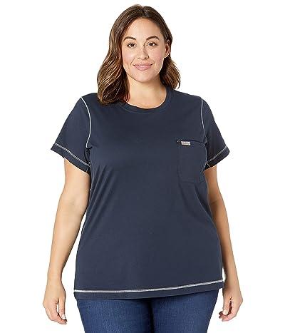 Ariat Plus Size Rebar Workman Camo Flag T-Shirt