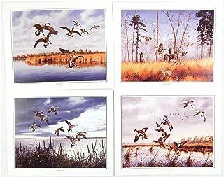 Vintage David Maass Wilderness Wings Print Portfolio 248 Four Print Set