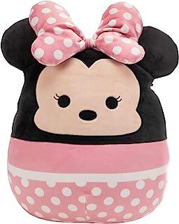 "Squishmallow Official Kellytoy Plush 14"" Minnie Mouse - Disney Ultrasoft Stuffed Animal Plush Toy"