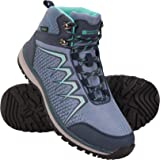 Mountain Warehouse Constellation Womens Boots - Waterproof Ladies Boots, Breathable, Lightweight, Sturdy Grip Shoes, Eva Cushion, Mesh Lined - Great for Walking & Hiking