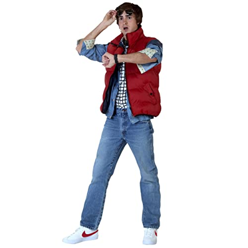 77778db6fc7fce Back to The Future Marty McFly Costume Red