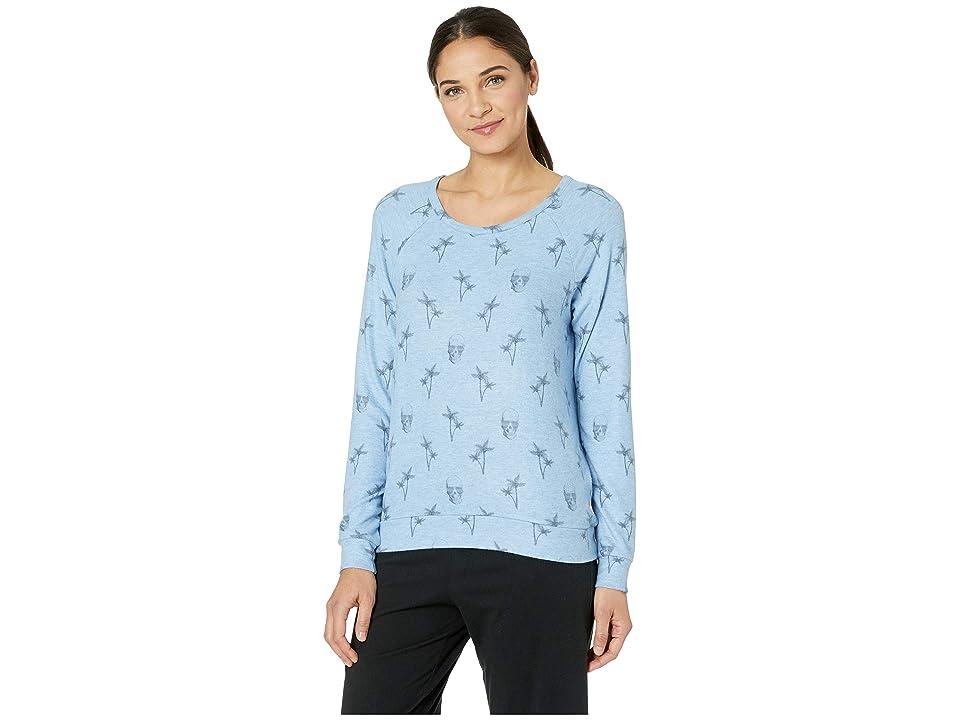 P.J. Salvage Peachy Party Sweater (Denim) Women