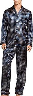 Men's Sleepwear Satin Pyjama Set Nightwear Loungewear