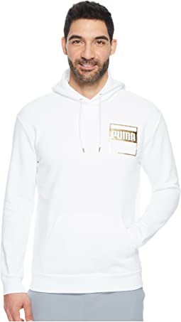PUMA - Rebel Gold Hoodie Fleece