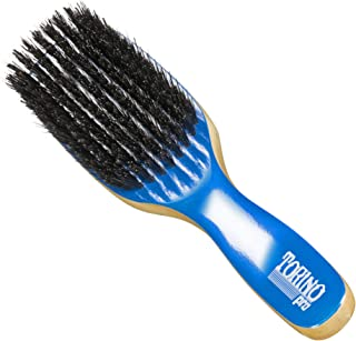 Torino Pro Medium Hard Wave Brush By Brush King - #1590- Duet collection - Different color on each side - 9 rows - Great f...