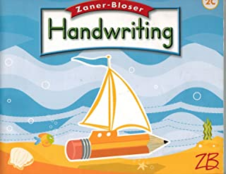 Zaner Bloser Handwriting: Grade 2, Cursive
