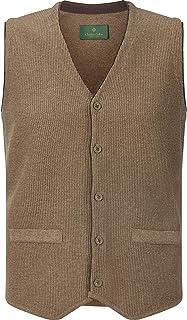 Charles Colby Herren Knitted Waistcoat Kevan