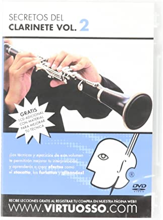 Virtuosso Clarinet Method Vol.2 (Curso De Clarinete Vol.2) SPANISH ONLY