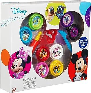 Sambro Disney Mickey Mouse Kit de pâte à Modeler avec Outils et emporte-pièces, idéal pour Les Enfants Multicolore