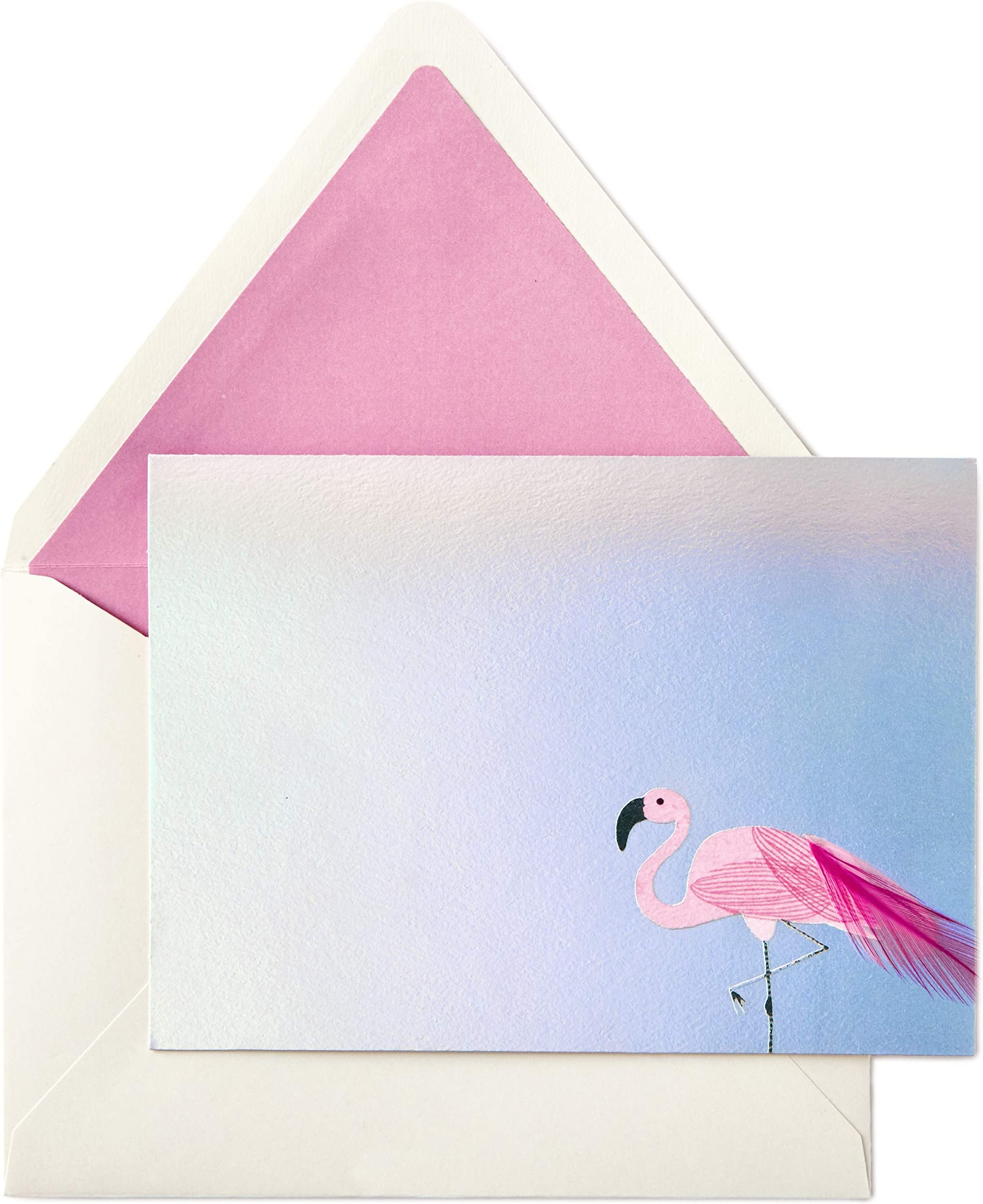 Flamingo Note Cards Bird Note Cards Blank Note Cards Flamingo Stationery