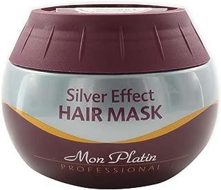 mon platin silver effect hair mask