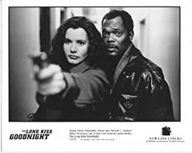 GEENA DAVIS/SAMUEL L. JACKSON/LONG KISS GOODNIGHT/8X10 ORIGINAL PHOTO A1935