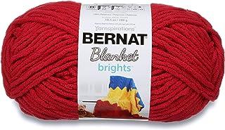 Bernat Blanket Brights Yarn, Race Car Red