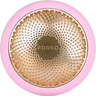FOREO UFO 智能面膜護理儀,珍珠粉,只需90秒即可完成面膜護理,擁有加熱、冷卻、LED光療和聲波脈動技術,可連接智能手機app