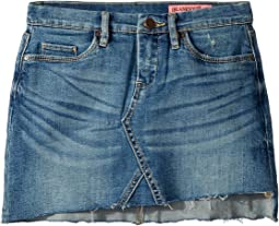 Denim Mini Skirt in Inside Joker (Big Kids)