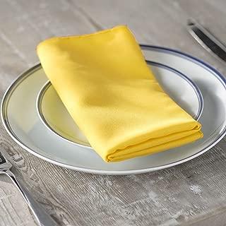 yellow linen napkins wholesale