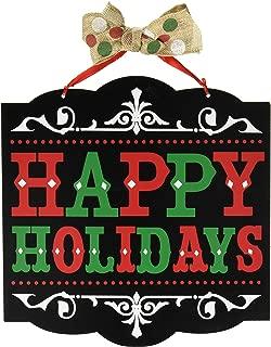 amscan decoration241596 Happy Holidays Medium Sign, 12