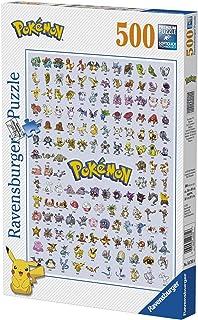 Ravensburger 147816 Puzzel Eerste Generatie Pokémon - Legpuzzel - 500 Stukjes