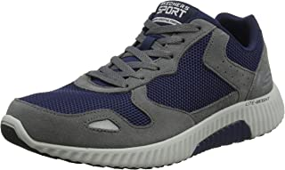Skechers Herren Meridian Ostwall Sneaker, blau, 39 EU