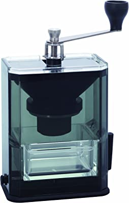 Hario Clear Acrylic Ceramic Coffee Mill Manual Grinder, 40g