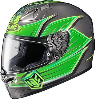 HJC Banshee Men's FG-17 Street Motorcycle Helmet - MC-4 / Medium