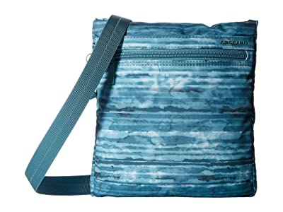 Hedgren Leonce RFID Shoulder Bag (Aqua Print) Shoulder Handbags