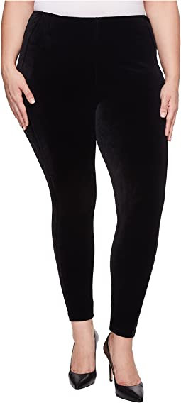 Plus Size Ella Velvet Leggings