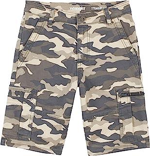 Wrangler boys Straight Fit Cargo Shorts Straight Fit Cargo Shorts