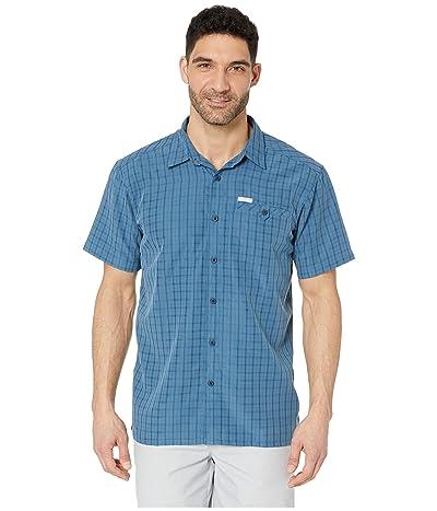 Columbia Declination Trailtm II S/S Shirt (Impulse Blue Mini Plaid) Men