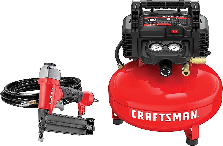 CRAFTSMAN Air Compressor Combo Kit 1 Tool 税込 CMEC1KIT18 Renewed ギフト プレゼント ご褒美