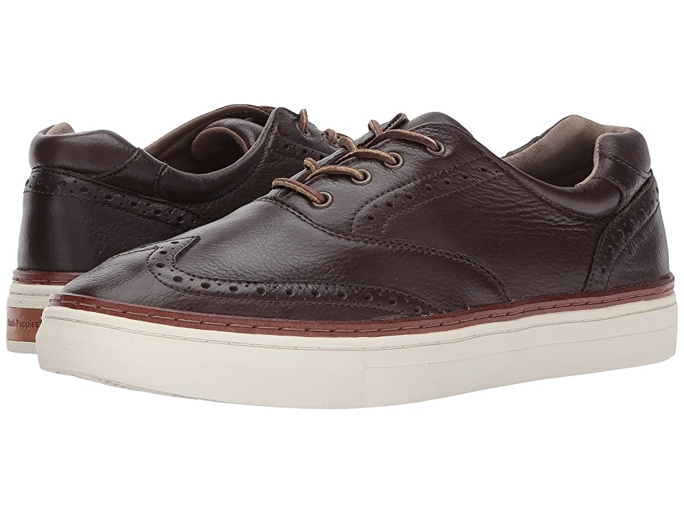 Hush Puppies Fielding Arrowood (Dark Brown Leather) Men