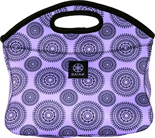 Gaiam Lunch Clutch, Neoprene - violet Marrakesh (30903) by Allsop