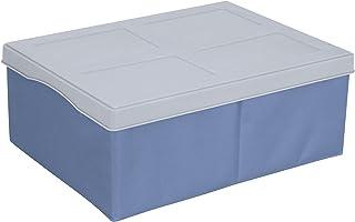 Wenko 2770012100 Boîtes de Rangement Concept M Bleu/Gris